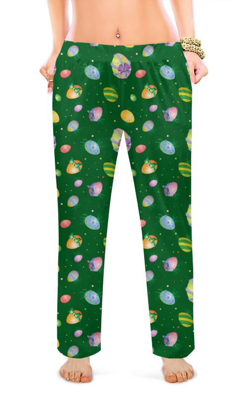 Printio Женские пижамные штаны Пасхальные яйца