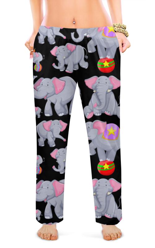 Printio Женские пижамные штаны Слоники