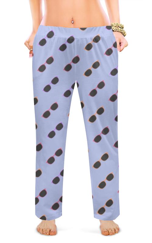 Printio Женские пижамные штаны Разноцветные очки