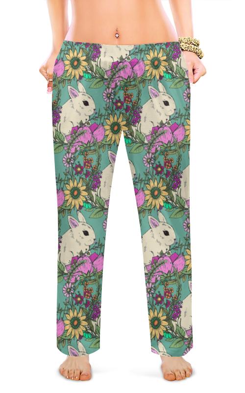 Printio Женские пижамные штаны Милые кролики
