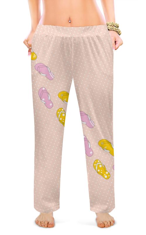 Printio Женские пижамные штаны Сланцы