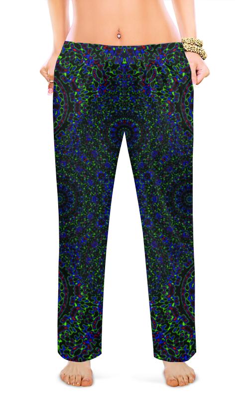 Printio Женские пижамные штаны Фрактальные круги