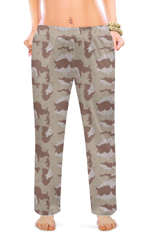 Printio Женские пижамные штаны Современный камуфляж