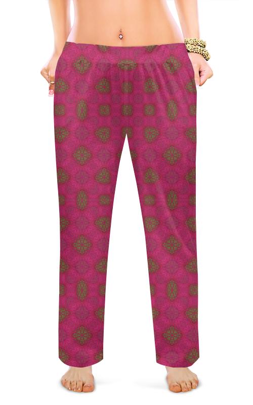 Printio Женские пижамные штаны Фрактальные поля галактики роз