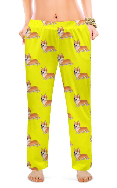 Printio Женские пижамные штаны Корги