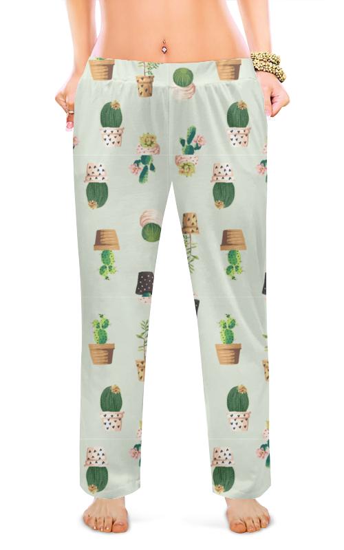 Printio Женские пижамные штаны Кактусы