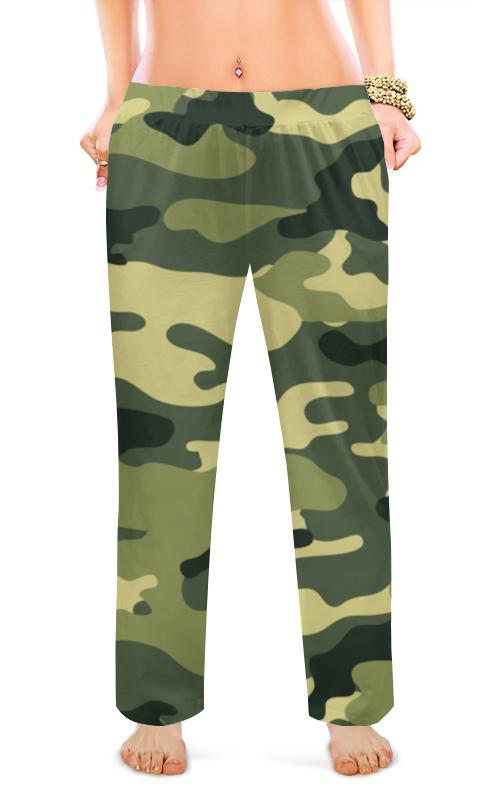 Printio Женские пижамные штаны Хаки.