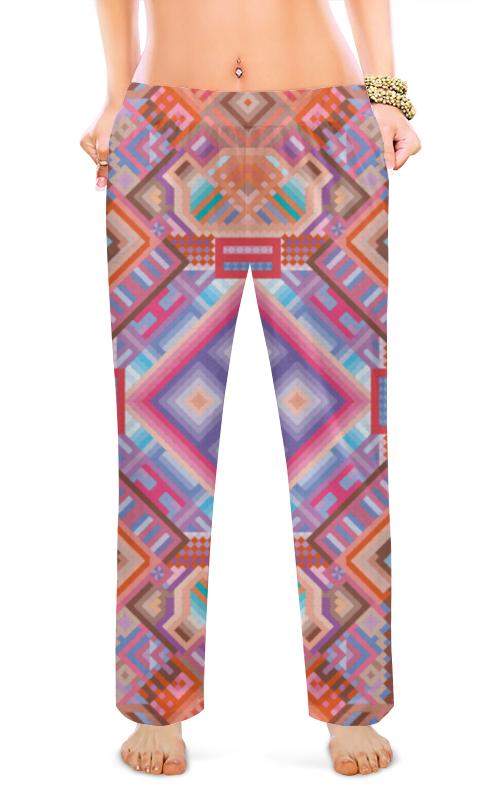 Printio Женские пижамные штаны с абстрактным рисунком printio сумка с абстрактным рисунком