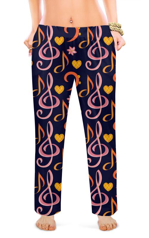 Printio Женские пижамные штаны Музыка