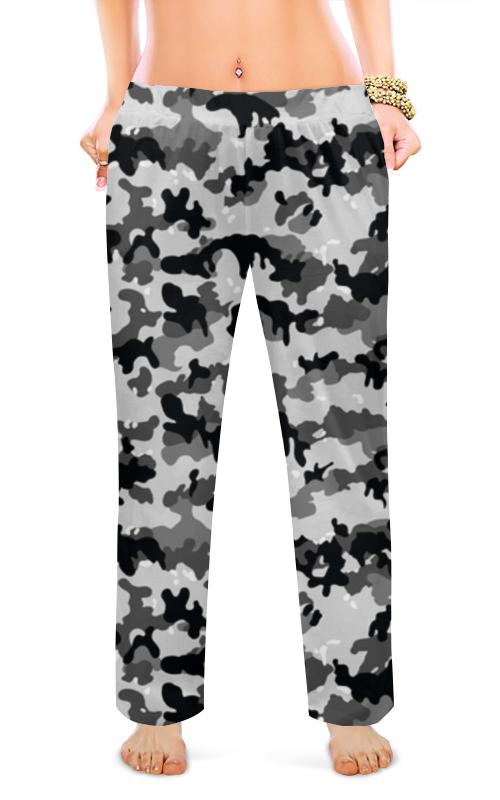 Printio Женские пижамные штаны Городской камуфляж