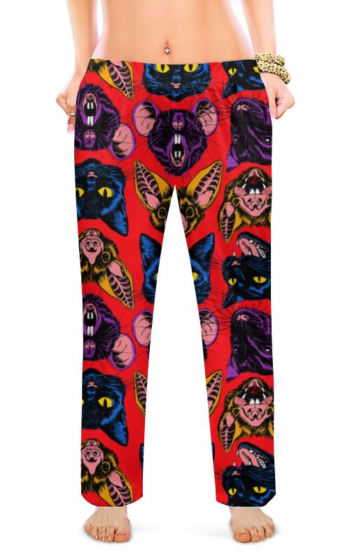 Printio Женские пижамные штаны Зубастики