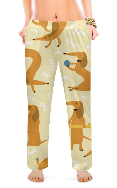 Printio Женские пижамные штаны Такса