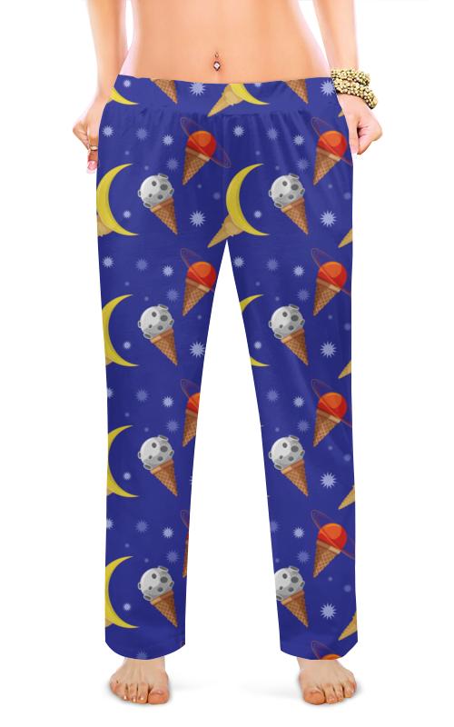 Printio Женские пижамные штаны Космическое мороженое
