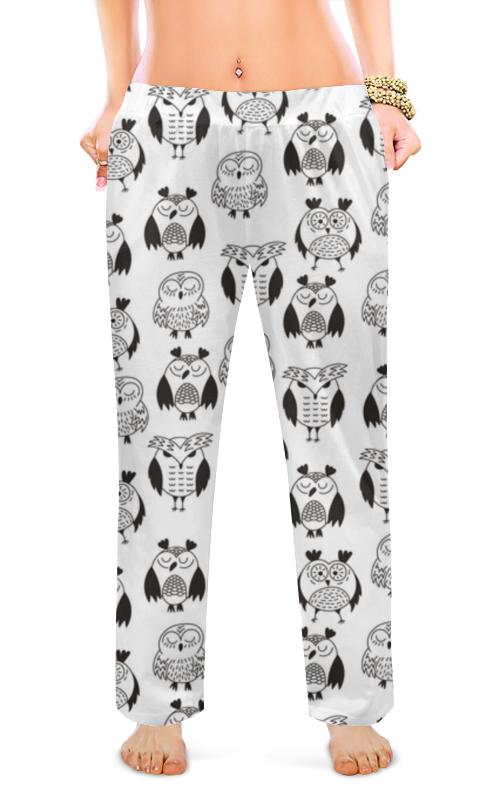 Printio Женские пижамные штаны Очаровательные совы