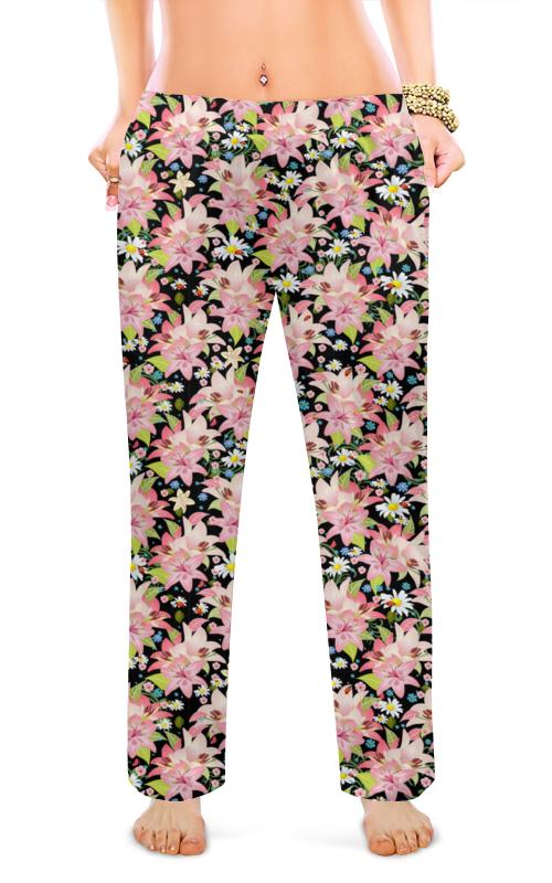Printio Женские пижамные штаны Цветы