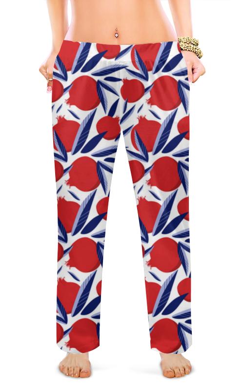 Printio Женские пижамные штаны Солнечный сад