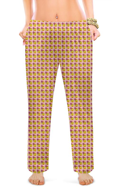 Printio Женские пижамные штаны Смайлы