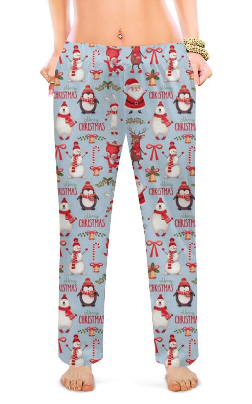 Printio Женские пижамные штаны Новый год