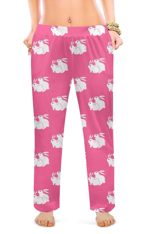 Printio Женские пижамные штаны Кролики