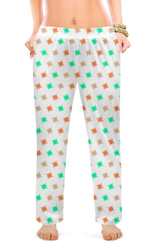 Printio Женские пижамные штаны Звезды