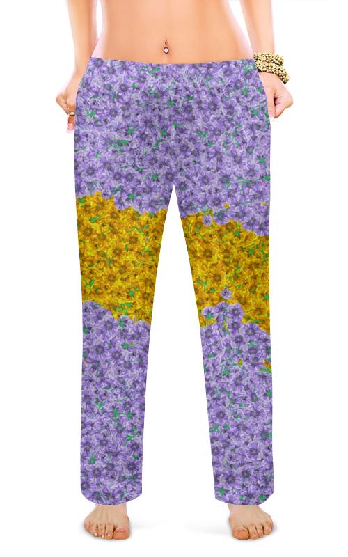 Printio Женские пижамные штаны Дети цветов, 1960-е