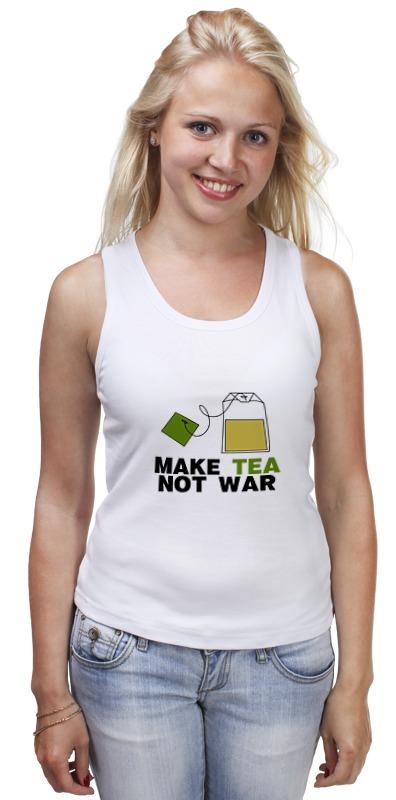 printio make tea not war Printio Майка классическая Make tea not war