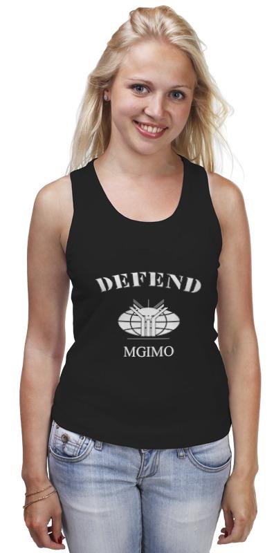 Printio Майка классическая Defend mgimo
