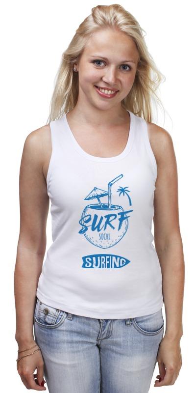 Printio Майка классическая Сочи серфинг