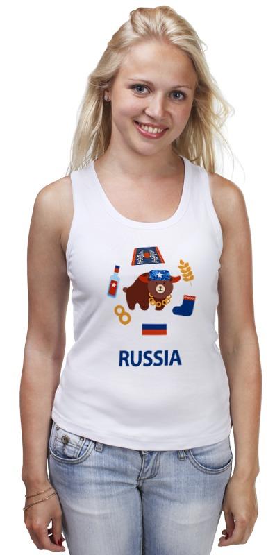 Printio Майка классическая Россия (russia)