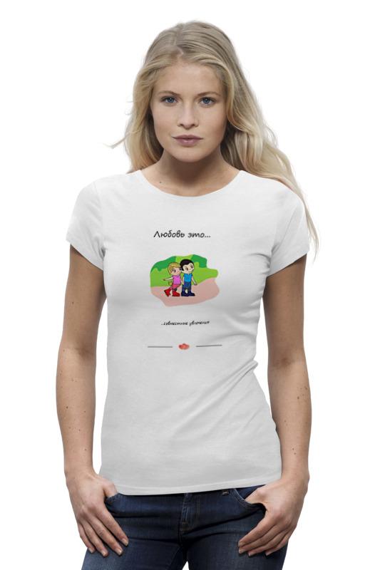 Фото - Printio Футболка Wearcraft Premium Love is... art 4 printio футболка wearcraft premium love is art 169