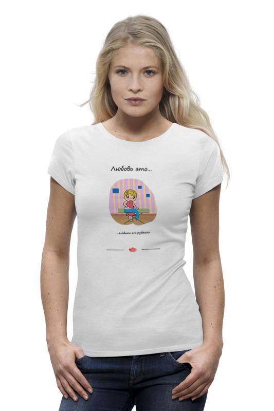 Фото - Printio Футболка Wearcraft Premium Love is... art 176 printio футболка wearcraft premium love is art 169