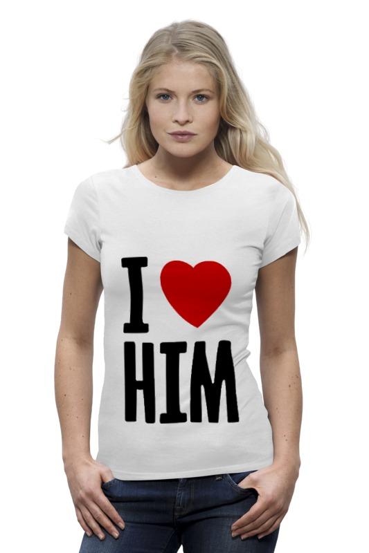 Printio Футболка Wearcraft Premium I love him printio футболка wearcraft premium i love