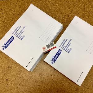 Печать брендированных (корпоративных) конвертов