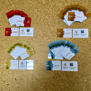 Дисконтные карты с логотипом
