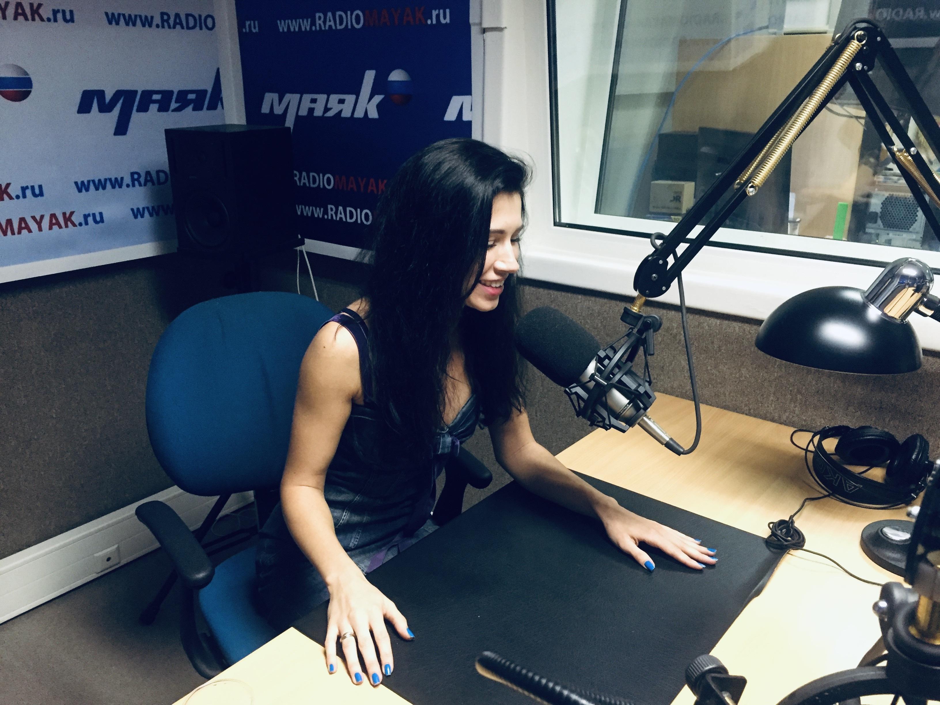 Валерия Репина на радио «Маяк» в передаче «Один Вадим»