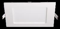 Изображение Светильник встр. LED 9Вт 600Лм 4000К IP40 ультратонкий PPL-S 9w 4000K IP40 WH 145*145
