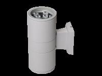 Изображение Светильник фасад.настен. LED 2х9Вт 1440Лм, 6500К IP65 серый PWL-245110/24D 2x9w 6500K GR