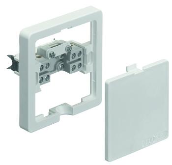 Изображение Розетка для электроприборов скрытого монтажа белый 5х2,5 кв.мм