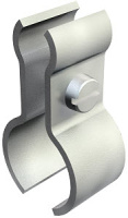 Изображение 1404288 | Тросовый зажим 19-28 мм Тип: 1020 18-28 G (Диаметр троса 4-9 мм)