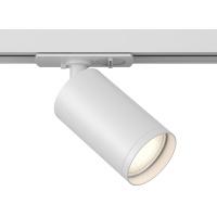 Изображение TR020-1-GU10-W   Однофазный поворотный трековый светильник Track lamps, GU10 75w белый матовый