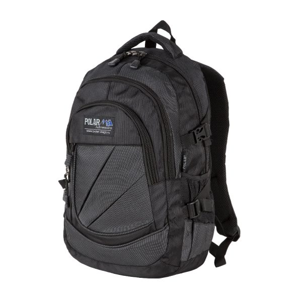 Городской рюкзак Polar 38039 black-1-900x900pp