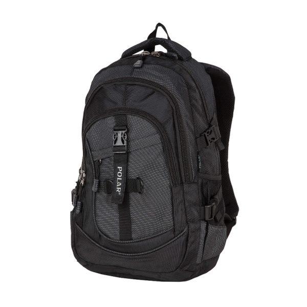 Городской рюкзак Polar 38069 black -1-900x900pp