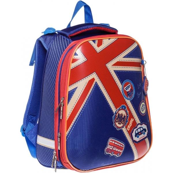 Hatber Ранец школьный Ergonomic Британский флаг -1-600pp