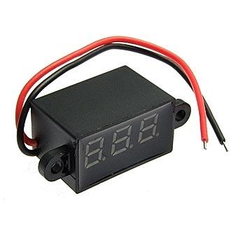 3.5-30VDC red (27x15mm)