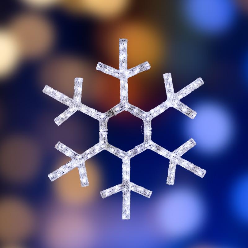 """Акриловая светодиодная фигура """"Снежинка"""", диаметр 91 см"""