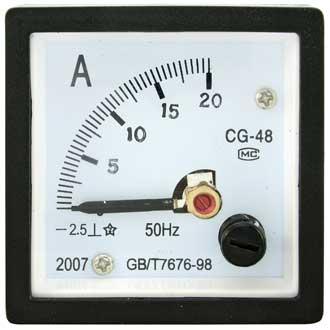 Амперметр   20А    (48х48)
