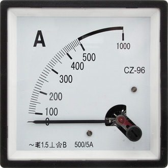 Амперметр 500/5А 50гц  (96х96)