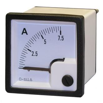 Амперметр    7.5А  (48х48)