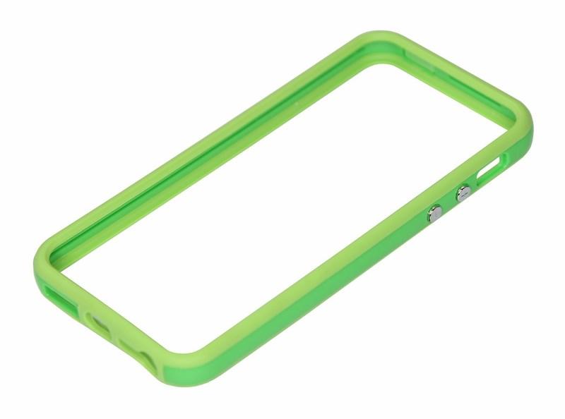 Бампер для iPhone 5/5S зеленый