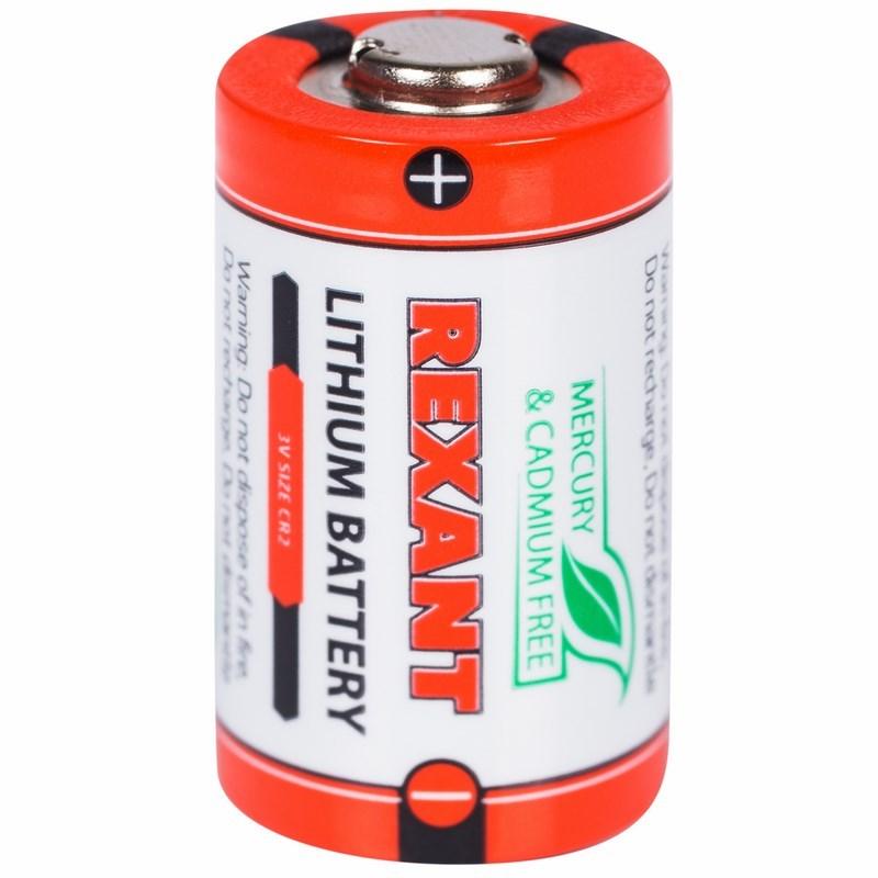 Батарейка CR2 1 шт. блистер REXANT